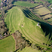 Glastonbury aerial photos