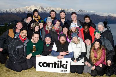 CONTIKI SKI TOURS 14 AUGUST 2017 photos