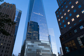 Freedom Tower, One World Trade Center will stand a symbolic 1,776 feet high, making it the tallest building in the Western Hemisphere.