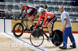 Junior Men Sprint Semifinal. Track O-Cup #2, Milton, On, March 28, 2015