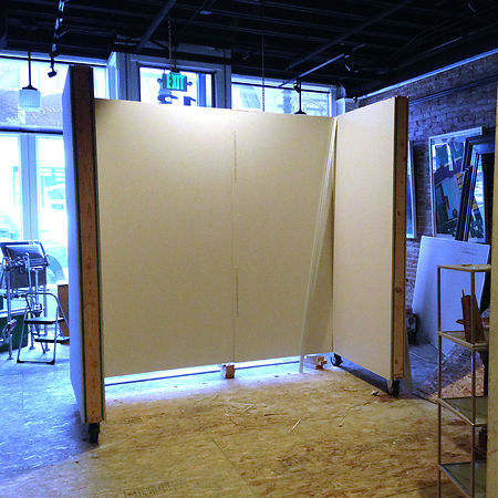 Gallery Walls Going Up! photos