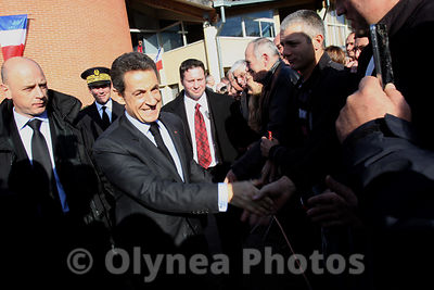 Nicolas Sarkozy visit department of Gers  2011 photos, pictures, picture, agency
