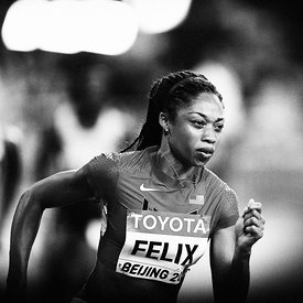 Allyson FELIX (USA) photos