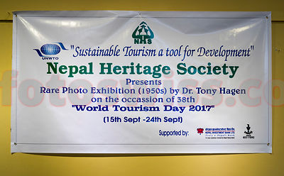 Dr. Katrin Hagen - Photo Exhibition Nepal Heritage Society Kathmandu photos