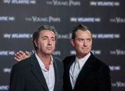 "Premier in Rome for the new television series ""The Young Pope"" with Jude Law and directed by Paolo Sorrentino."