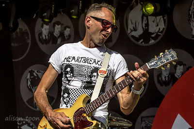 Mike Dimkich, guitar, with Bad Religion