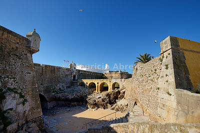 Peniche fortress, a former political prison, now open to the public. Portugal
