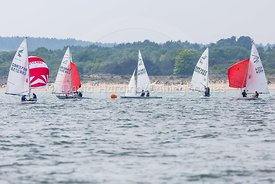 Flying Fifteen fleet, Poole Regatta 2018, 20180526526