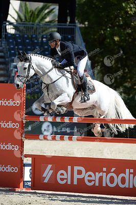 Krzysztof LUDWICZAK ,(POL),  A NEW PRESIDENT during Coca-Cola Trofey competition at CSIO5* Barcelona at Real Club de Polo, Barcelona - Spain