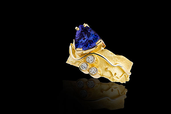Laurent Tschiegg Jewel Ring Tanzanite