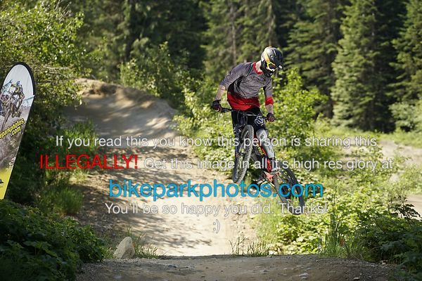 Thursday June 21st Aline First Hit bike park photos
