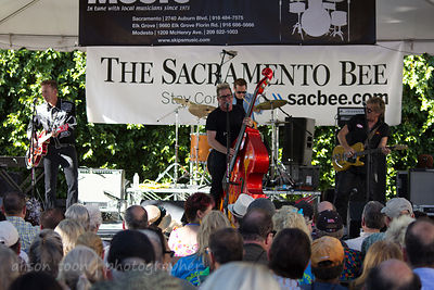 Lee Rocker (The Stray Cat), Sacramento Music Festival 2014