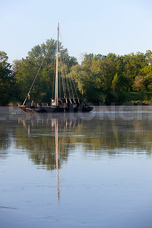 photo: bords de Loire a Luynes