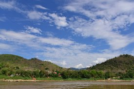 A Beautiful Day on the Mekong River