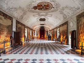 The Long Hall in Rosenborg Castle