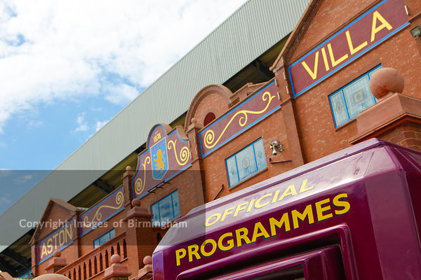 Aston Villa Football Club, Birmingham