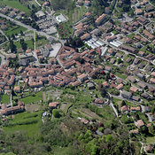 Capiago Intimiano aerial photos