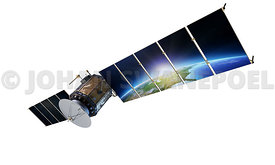 Satellite communications Transparent Background