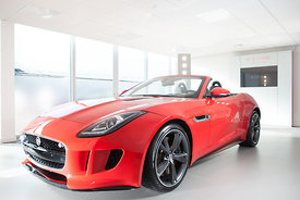 Launch feature In Indepenedent on Saturday of new Jaguar sports car