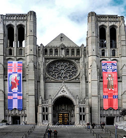 Grace Cathedral San Francisco Californie 10/12