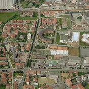 Borgaro Torinese aerial photos