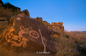 Anasazi Rock Art, Kokopelli Galisteo Basin, New Mexico