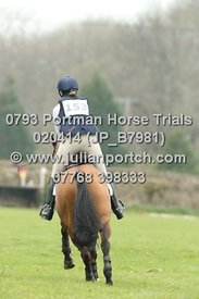 Portman Horse Trials 2014 - BE100 Sections (14-00 - 14-59)
