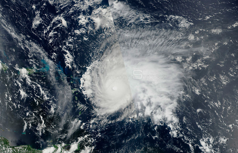 NASA Satellite Shows Hurricane Irma Over Cuba