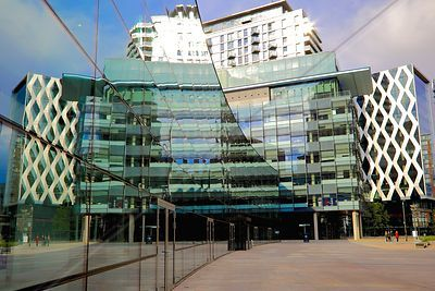 Dock House and BBC Studios at Salford Quays
