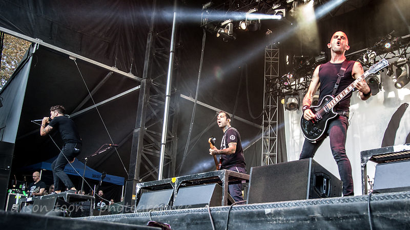 Rise Against, Aftershock 2014
