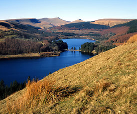 taf fechan reservoirs and the brecon beacons powys wales