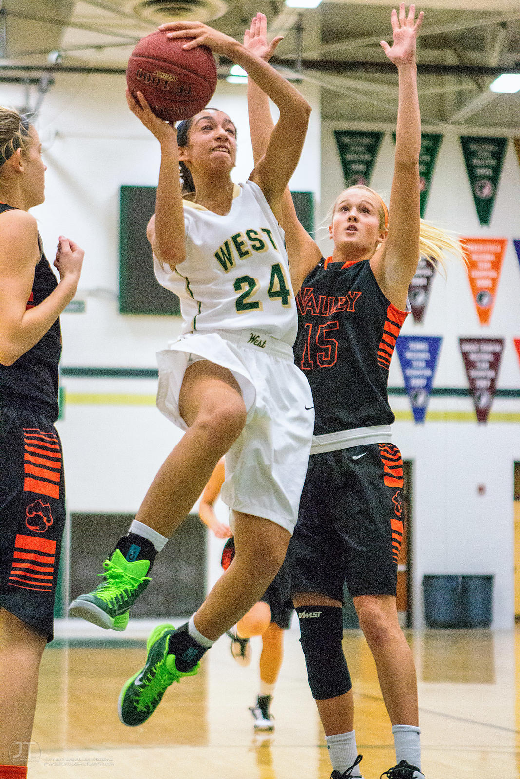 Girl's Prep Basketball, Iowa City West vs West Des Moines Valley, January 24, 2015 photos