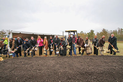 Richard A. Tucker Memorial Library Groundbreaking photos