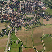 Ingersheim aerial photos