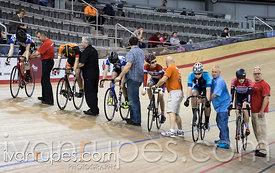 U17 Men Keirin Final. Ontario Track Provincial Championships, March 6, 2016