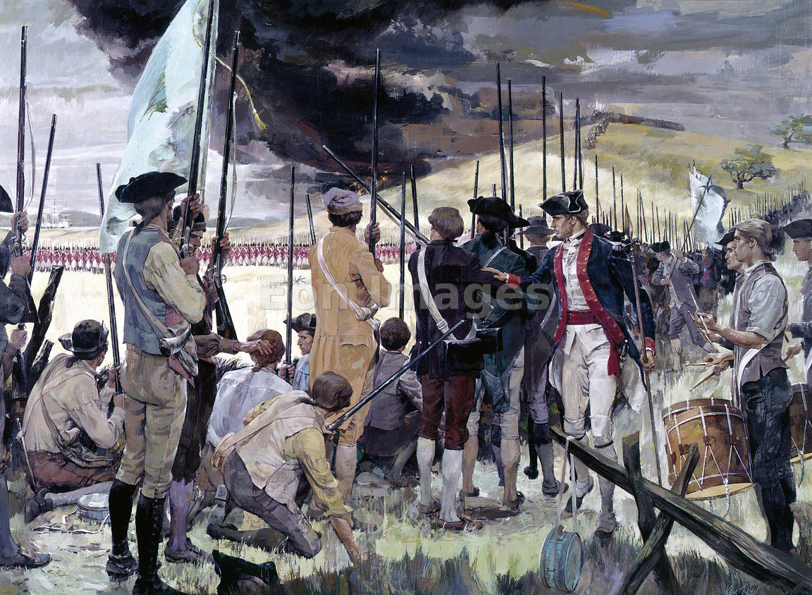 Battle of Bunker Hill by Riley