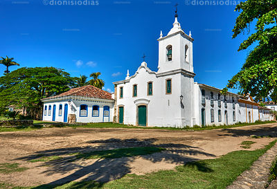 Church of Our Lady of Sorrows, Paraty, Brazil.