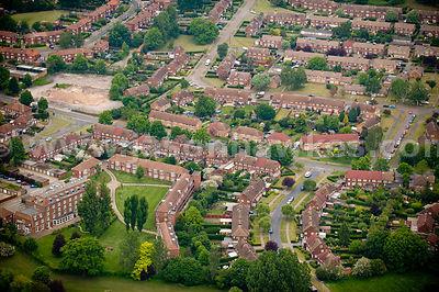 Aerial Photographs Welwyn Garden City Jason Hawkes