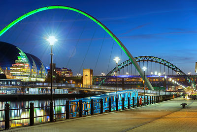 Newcastle Quayside Evening