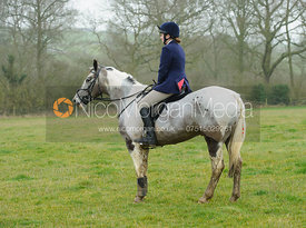 Rhianne Platts - The Cottesmore Hunt at Newbold 18/2