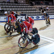 Women Keirin 1-6 Final. Ontario Track Championships, March 4, 2018