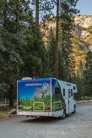 Cruise America Rental RV in Yosemite National Park
