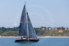 Crazy Horse, GBR6693, Trapper 300, Poole Regatta 2018, 20180528549