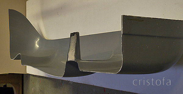 Development can be tough - needed to check the integrity and thickness of seatdeck moulding so cut one up