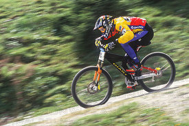 JOHN TOMAC SEMI FINAL KAPRUN, AUSTRIA. GRUNDIG DOWNHILL WORLD CUP 1997