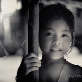 """First Child at Tonle Sap"""