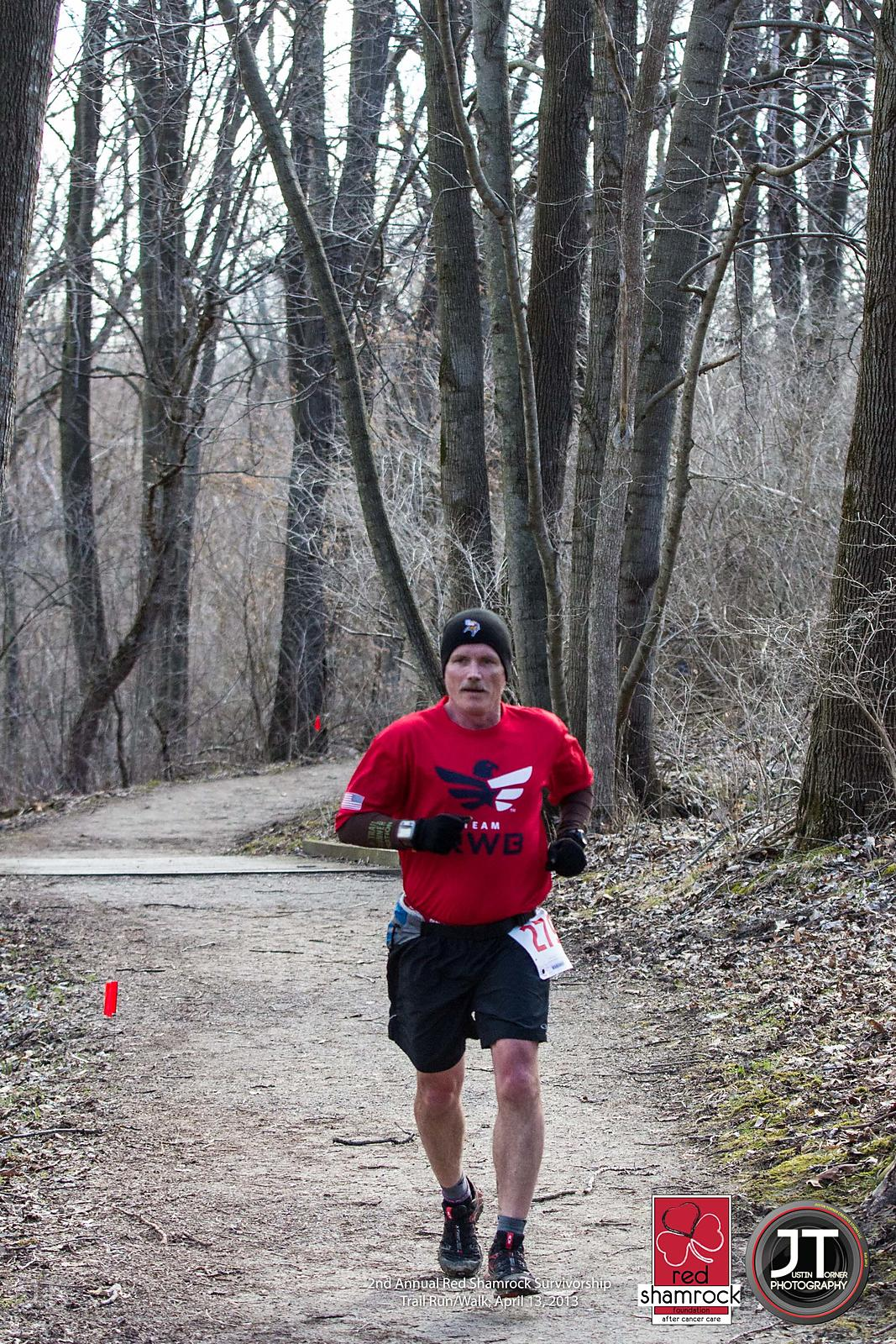 2nd Annual Red Shamrock Survivorship Trail Run/Walk, April 13, 2013 photos