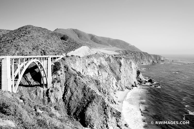 Big Sur California - Black and White Photos Images Fine Art Prints Stock Photos Color & Black and White Pictures Framed Canvas Metal Acrylic Prints Interior Designer Art Consultant Large Wall Decor Art Source