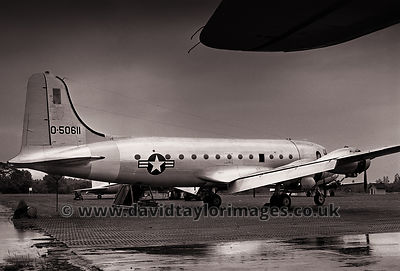 Sanitized | C-54G 0-50611 | RAF Changi November 1962
