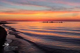 Sunset at Presque Isle Beach 10